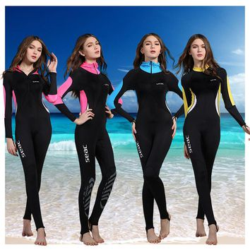 Women  Wetsuits  Swimwears  Diving  Suits  Sleeves