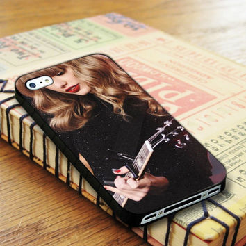 Taylor Swift Guitar Cute iPhone 4 | iPhone 4S Case