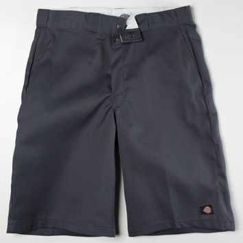 Dickies Mens Cell-Pocket Shorts Charcoal  In Sizes