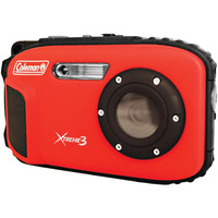 Coleman 20.0 Megapixel Xtreme3 Hd And Video Waterproof Digital Camera (red)