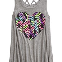 CROSS BACK TANK | GIRLS CLOTHES NEW ARRIVALS | SHOP JUSTICE