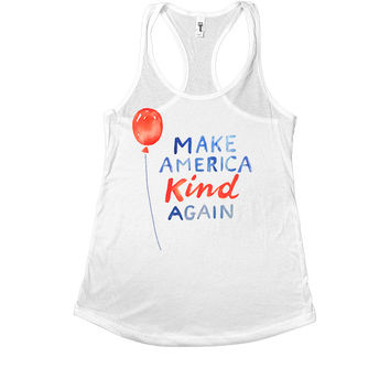 Make America Kind Again -- Women's Tanktop