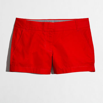 "Factory 3"" chino short - Shorts - FactoryWomen's New Arrivals - J.Crew Factory"