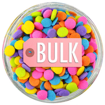 Bright Neon Sequin Sprinkles BULK