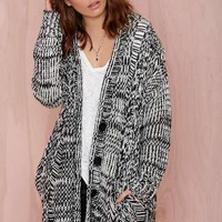 Joa Opposition Sweater Cardigan