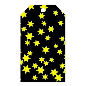 Yellow Stars Gift Tags