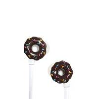 Donut with Sprinkles Earbuds
