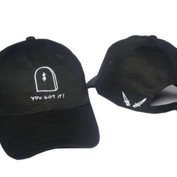 YOU GOT IT Embroidered Baseball Cap Hat