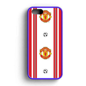 Manchester United Foot Ball Red White iPhone 5 Case iPhone 5s Case iPhone 5c Case