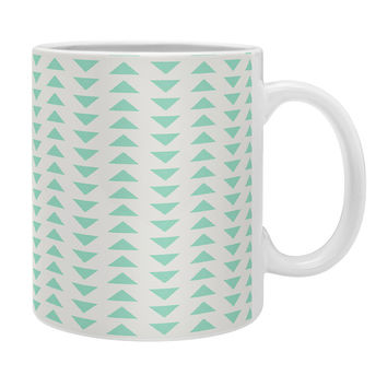 Allyson Johnson Minty Triangles Coffee Mug