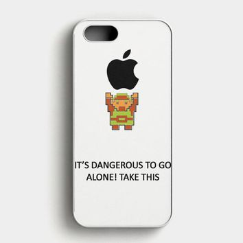 Legend Of Zelda Kingdom Of Hyrule Crest Letterpress iPhone SE Case