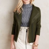 Sparrow Textured Wool Moto Jacket
