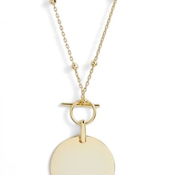 Argento Vivo Toggle Pendant Necklace | Nordstrom