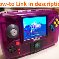 Grape64 Portable N64 System - All