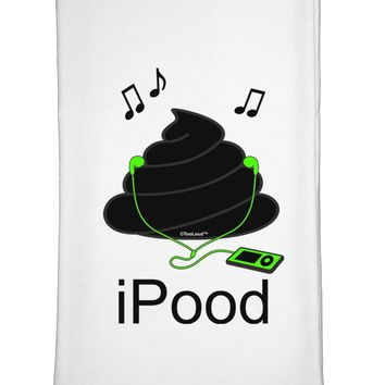 iPood Flour Sack Dish Towel by TooLoud