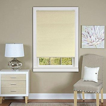 Ben&Jonah Collection Cordless Honeycomb Cellular Pleated Shade 31x64 - Alabaster