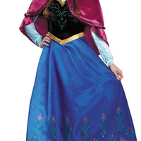 Deluxe Frozen Traveling Anna Costume