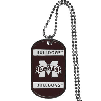 Mississippi St. Bulldogs Tag Necklace CTN45