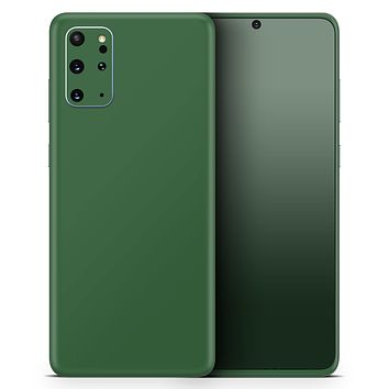 Solid Hunter Green - Skin-Kit for the Samsung Galaxy S-Series S20, S20 Plus, S20 Ultra , S10 & others (All Galaxy Devices Available)