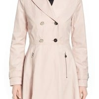 Laundry by Shelli Segal Skirted Trench Coat | Nordstrom