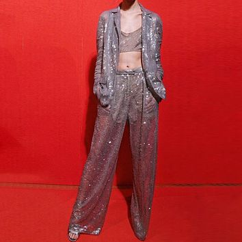 Summer Sequins Suit