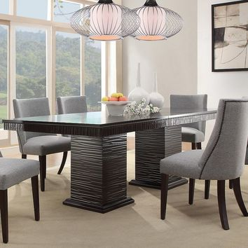 HomeVance Graford Extendable Dining Table (Brown)