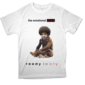 READY TO CRY parody internet celebrity tumblr seapunk t-shirt