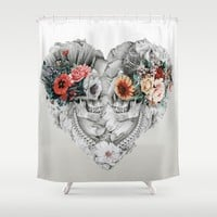 Immortal Love Shower Curtain by RIZA PEKER