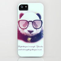 Panda tip iPhone & iPod Case by Diogo Menezes