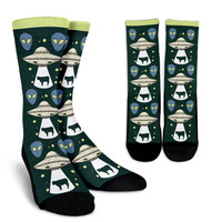 UFO Pattern Socks