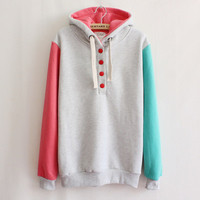 Women's fashion fleece hoodie