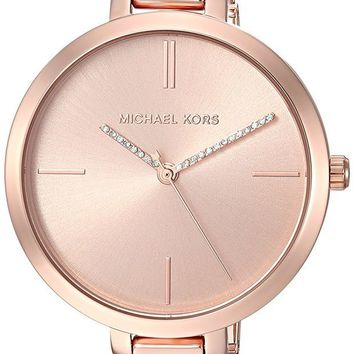 DCCK2JE Michael Kors Watches Jaryn Three-Hand Half Bangle Watch