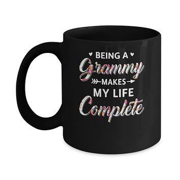 Being A Grammy Makes My Life Complete Mothers Day Mug