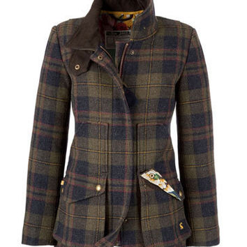 FIELDCOAT - Womens Tweed Jacket in Jackets & Coats at the Joules Clothing