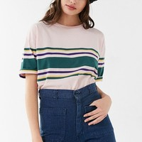 UO Basic Striped Tee | Urban Outfitters