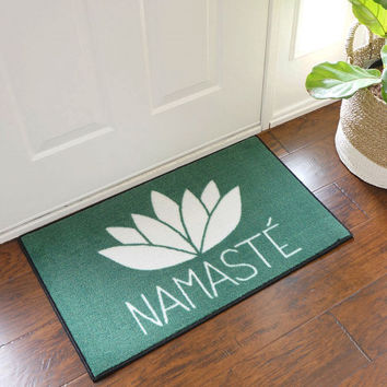 Namaste Welcome Door Mat