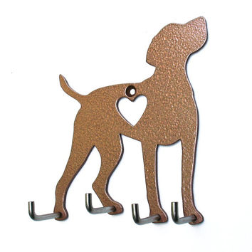 Vizsla Leash Holder - Dog Leash Hook - Dog Key Holder - Dog Leash Hanger - Dog Leash Rack