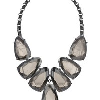 Harlow Statement Necklace in Mirror Rock Crystal - Kendra Scott Jewelry