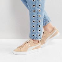 Puma Suede Classic Sneakers In Sand at asos.com