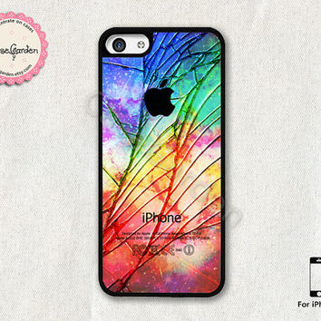 Cracked Out iPhone 5C Case, iPhone Case, iPhone Hard Case, iPhone 5C Cover