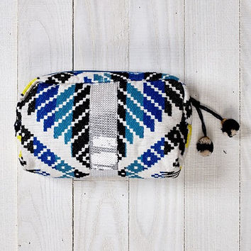Boho Aztec and Sequin Makeup Bag