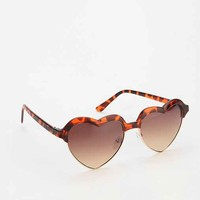 In Love Sunglasses - Brown One