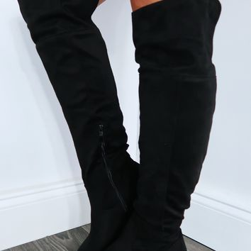High Rider Boots: Black