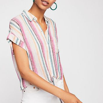 Amelie Stripe Top
