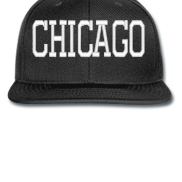 CHICAGO EMBROIDERY HAT - Snapback Hat