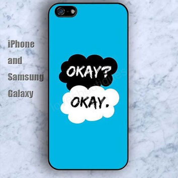dream okay blue iPhone 5/5S Ipod touch Silicone Rubber Case Phone cover Waterproof