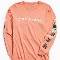 Diplo Artist Portrait Long Sleeve Tee | Urban Outfitters