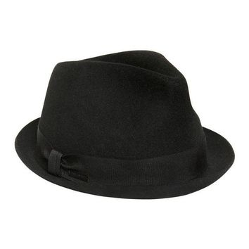 NOV9O2 Dsquared2 Boys Black Wool Fedora Hat