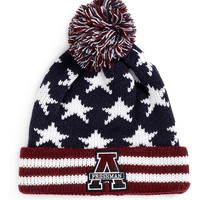 'AMERICAN FRESHMAN' STARS AND STRIPES BEANIE - Accessories - New In - TOPMAN USA