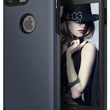 iPhone 7 Plus Case, Caseology [Legion Series] Heavy Duty Slim Rugged Protection Corner Cushion Design for Apple iPhone 7 Plus (2016) Only - Deep Blue